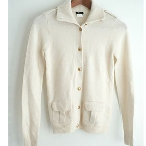 J.Crew Wool Cashmere Cardigan Sweater